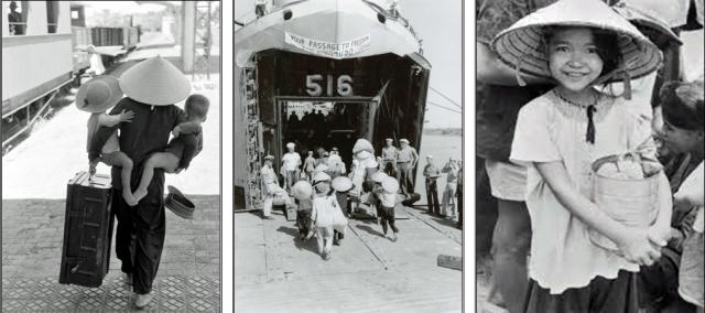 1954 Dân Hà Nội di cư vào Miền Nam - Tị nan cộng sản